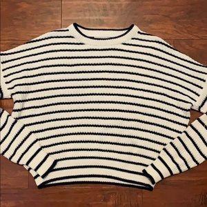 Urban striped sweater